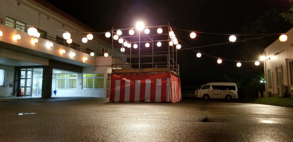 栃木県 那須塩原市 提灯レンタル 夏祭り