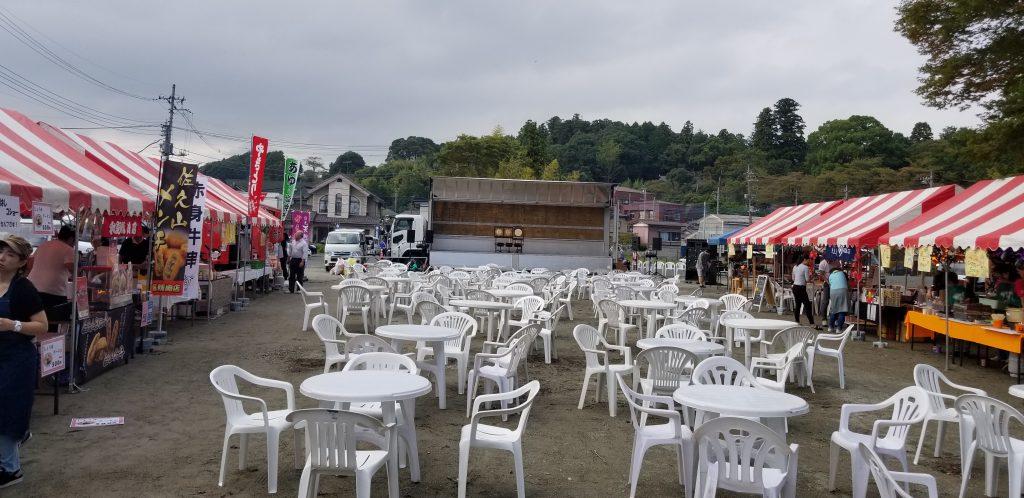 イベント テーブル イス レンタル 大田原