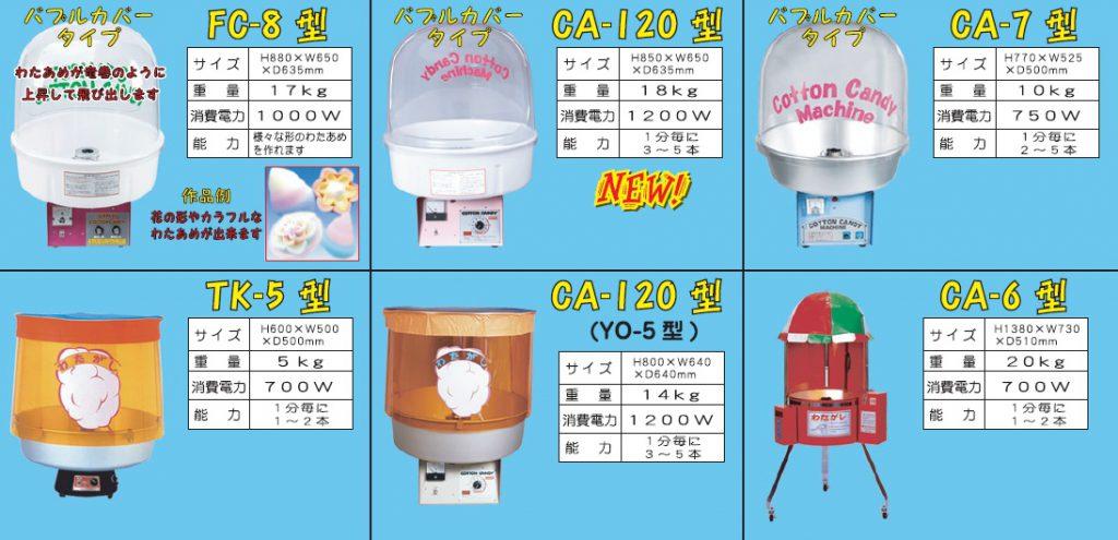栃木県 綿菓子機販売 レンタル