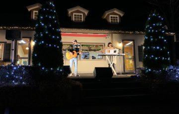 那須町 りんどう湖 クリスマス ライブ らふらっと 音響 マイク スピーカー